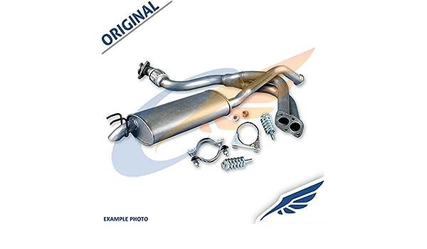 VAUXHALL ZAFIRA A 2.0 DTi 2.2 DTi 2003-2005 Full exhaust from CAT