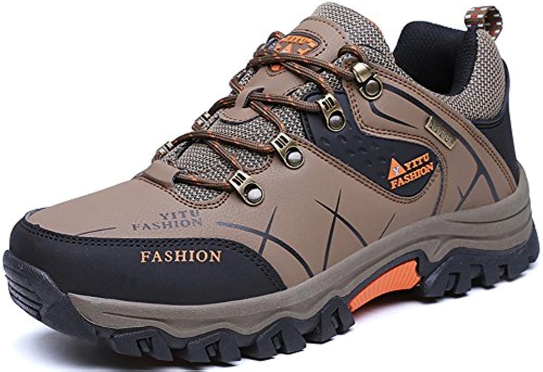 Odema Hombre Senderismo Zapatos Al Aire Libre Antideslizante Respirable Trekking Caza Turismo Montana Zapatillas