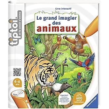 Ravensburger 00357 - Jeu éducatif électronique - tiptoi - Figurine Animal - Eléphanteau D'afrique