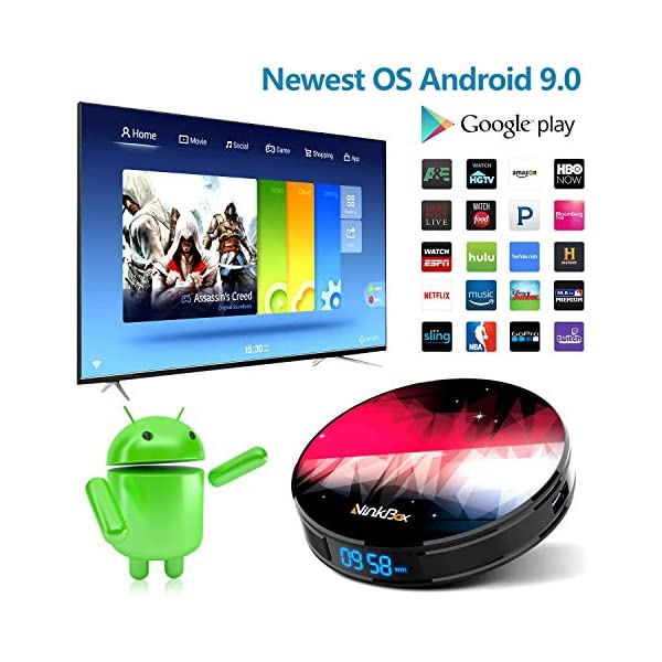 NinkBox-Android-TV-Box-de-Version-Android-90-4G64G-N2-Plus-TV-Box-de-Bluetooth-40-RK3318-Quad-Core-64bit-Cortex-A53-Box-Android-TV-de-LAN100M-et-Wi-FI-24G5G-TV-Box-4K-Boitier-Android-TV