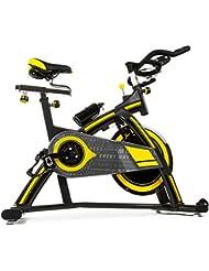 BICICLETA DE SPINNING PROFESIONAL 24KG DE INERCIA cdw.Display, manillar triatlonl, chasis robusto, ruedas delanteras, sistema amortiguacion.Regulable.