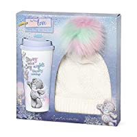 Me To You AGZ01053 Travel Mug & Bobble Hat Gift Set