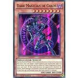 "Yu Gi-Oh: YGLD-ENC021. Edition Dark Magician of Chaos (dt.: Dunkler Magier des Chaos), ""Ultra Rare""-Karte–Yu-Gi-Oh, einzelne Karte…"