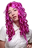 Wig me up Karneval Fasching Halloween Barock Lila Spirallocken Locken Gothic Lolita Cosplay 3078-PC51 50cm
