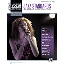 Female Voice Jazz Standards: Piano/Vocal Sheet Music With Orchestrated Backing Tracks