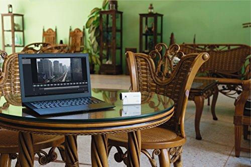 Sony FDR-X3000R 4K Action Cam mit BOSS (Exmor R CMOS Sensor, Carl Zeiss Tessar Optik, GPS, WiFi, NFC) mit RM-LVR3 Live View Remote Fernbedienung, weiß - 67