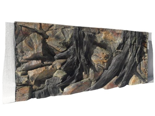 Aquarium Rückwand 3d Wurzel 100x50cm bei Robizoo
