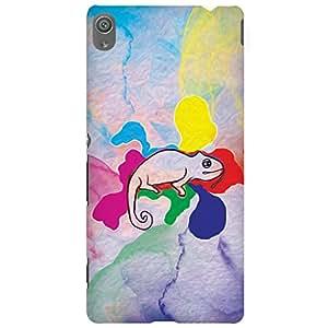 URBAN KOLOURS Original Designer Printed Hard Case Back Cover for Sony Xperia XA Ultra (Chameleon)