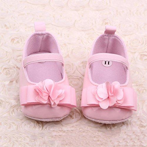 Sypure (TM) 2016Newborn Baby Girl scarpe primi camminatori cute flower