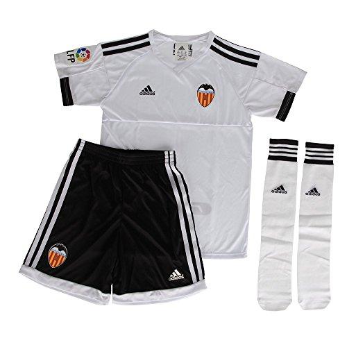 adidas Kids 'Valencia Ein Mini FC Kit, Schwarz/weiß, 10 Jahre Preisvergleich