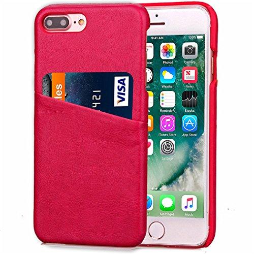 Voguecase® Pour Apple iPhone 7 4,7, Rigide Plastique Shell Housse Coque Étui Case Cover(Vine motif-Gris)de Gratuit stylet l'écran aléatoire universelle PU cuir-Rose