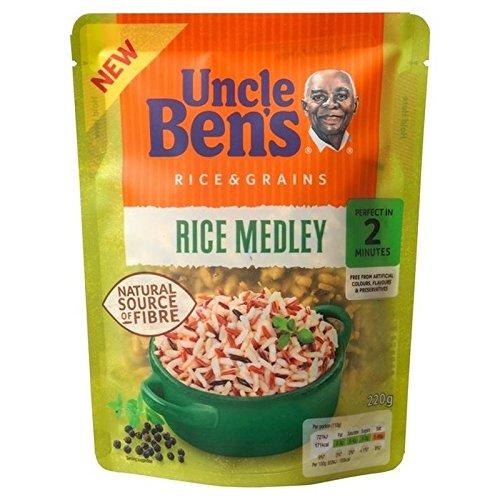 Riz Complet De 220G De Riz Uncle Ben Medley - Paquet de 6