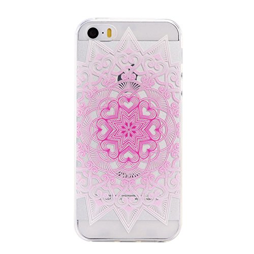 For IPHONE 5S/SE[COLORFUL TPU DTV2]Scratch-Proof Ultra Thin Rubber Gel TPU Soft Silicone Bumper Case Cover -DTPUV202 DTPUV203
