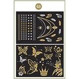 Gold Flash Tattoo Set G5 - Tatuaje Metálico Temporal en dorado y plateado