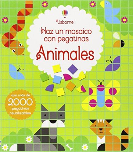 Animales. Haz Un Mosaico Con Pegatinas