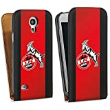 Samsung Galaxy S4 mini Tasche Schutz Hülle Walletcase Bookstyle 1. FC Köln Fanartikel Fussball