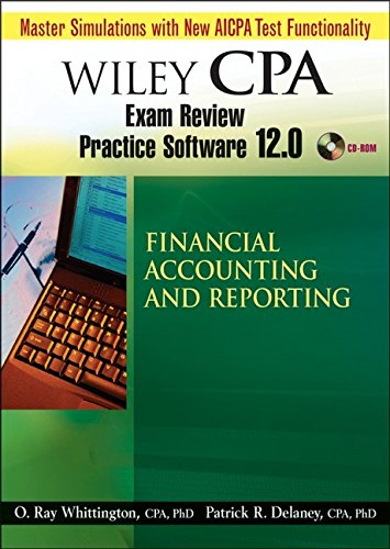 Wiley CPA Examination Review Practice Software 12.0. Financial Accounting & Reporting (FAR). CD-ROM ab Windows 2000/XP.