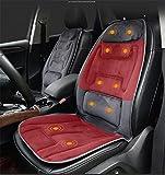 DIELIAN Cuscino del sedile da massaggio a 10 motori con calore