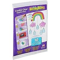 Shrinky Dinks Kristallklar-Kreativ-Pack mit 10 Bögen