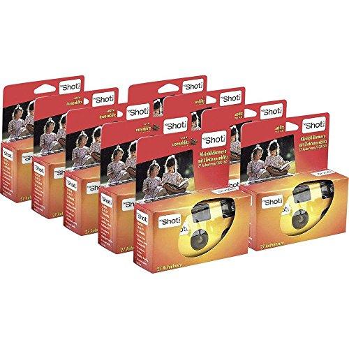 No Name (foreign brand) Einwegkamera Topshot 400 Flash 9 St. mit eingebautem Blitz