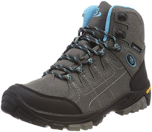 Bruetting Unisex-Erwachsene Mount Shasta Kids H Trekking-& Wanderstiefel Grau (Anthrazit/Tuerkis)