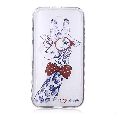 Voguecase® Per Apple iPhone 5 5G 5S, Custodia fit ultra sottile Silicone Morbido Flessibile TPU Custodia Case Cover Protettivo Skin Caso (Fiore pizzo) Con Stilo Penna Tie cervo