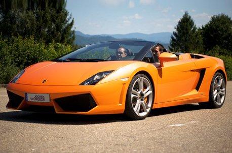 Geschenkgutschein: Lamborghini selber fahren