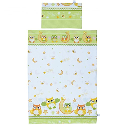 LCP Kids Owls green 2 Pcs Baby C...
