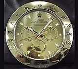 Rolex Daytona Salón Reloj De Pared De Oro