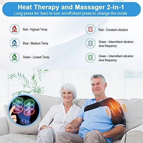 Zoom IMG-2 doact cuscinetto riscaldante per spalla