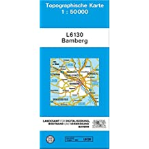 TK50 L6130 Bamberg: Topographische Karte 1:50000 (TK50 Topographische Karte 1:50000 Bayern)