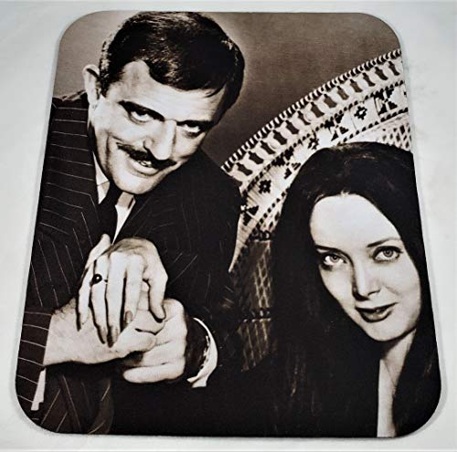THE ADAMS FAMILY Morticia & Gomez COMPUTER MOUSE PAD