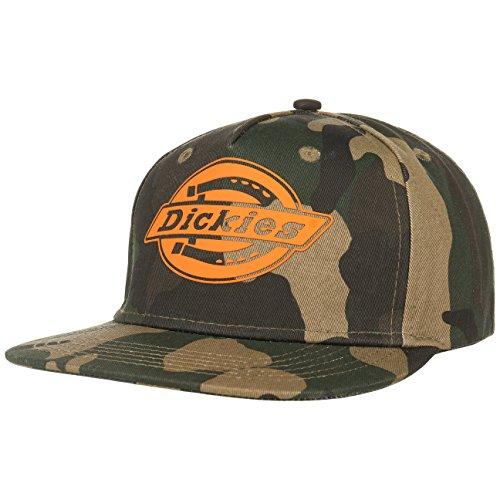 Dickies Unisex Baseball Cap Oakland Mehrfarbig (Camouflage/Orange CFO), Einheitsgröße (Herstellergröße:Einheitsgröße)