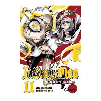 D. Gray-Man 11 Un escenario tenido de rojo/ A Red Stained Stage