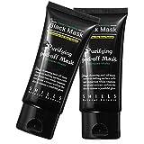 LANDFOX Negro Limpieza profunda Purificante Blackhead Eliminación de poro Peel-off Máscara facial
