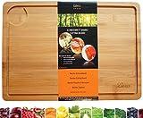 livus® ofrece un fuerte y mejor cortar (bambú, el nproactiva le acompaña durante toda su vida. tienen la mejor tamaño de 35x 25x 1.5cm y encajan en cualquier cocina, tablas de bambú son también ahorra espacio. todavía la tabla de bambú está diseña...