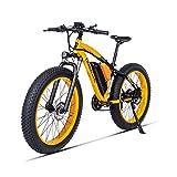 HUAEAST Bici Grassa Elettrica Bici Elettrica 500w 26 Pollice 48V 17AH Batteria 21 velocità Freno a Disco MTB Adulto