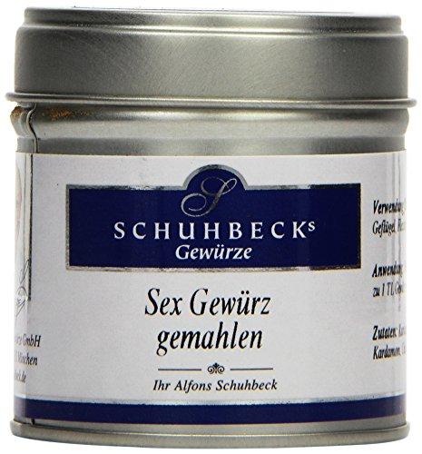 Schuhbecks Sex Gewürz, 3er Pack (3 x 45 g)