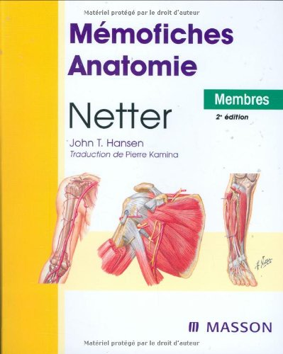 Mmofiches Anatomie Netter : Membres
