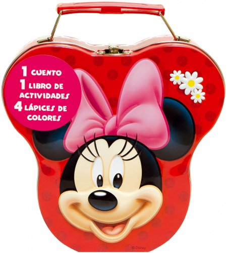 Minnie Mouse. Cajita metálica