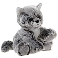 Heunec 20 cm Glitter-Kitty Baby Cat Plush Toy (Black/White)_P