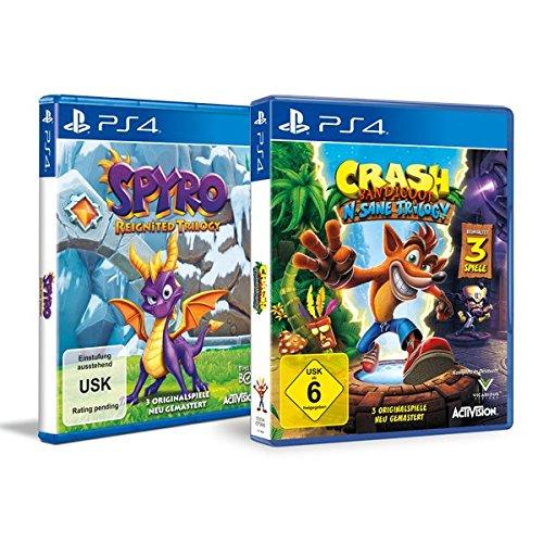 Legenden Bundle: Crash Bandicoot N.Sane Trilogy + Spyro Reignited Trilogy - PS4