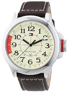 Reloj Tommy Hilfiger 1790844 de cuarzo para hombre con correa de piel, color marrón de Tommy Hilfiger