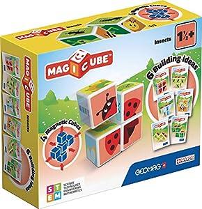 Geomag- Magicube Juguete de construcción,, 4 Piezas (603)