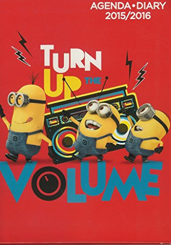 agenda-scolaire-minion-turn-up-the-volume-2015-2016