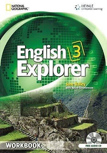 English Explorer 3: Workbook with Audio CD por Helen Stephenson