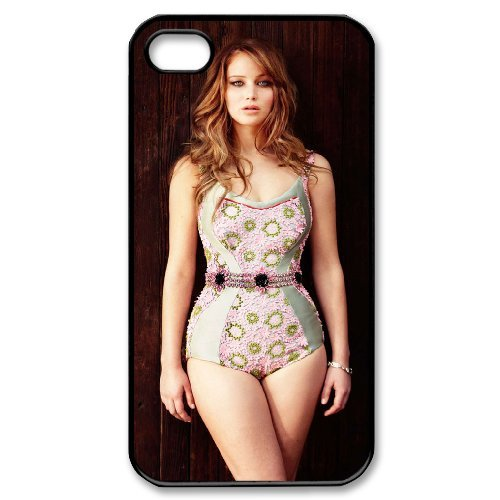LP-LG Phone Case Of Jennifer Lawrence For Iphone 4/4s [Pattern-6] Pattern-3