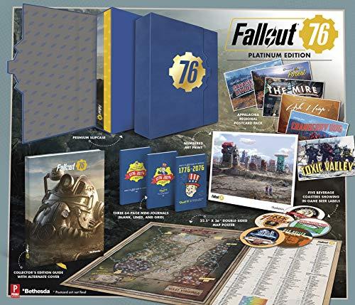 Fallout 76: Official Platinim Edition Guide por David Hodgson