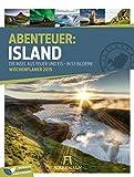 Island - Wochenplaner 2019, Wandkalender im Hochformat (25x33 cm) - Wochenkalender mit Rätseln und Sudoku auf der Rückseite - Ackermann Kunstverlag