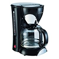 Sabichi 146380 Automatic Hot Drink Filter Coffee Maker Machine, 1.25 Litre, Black